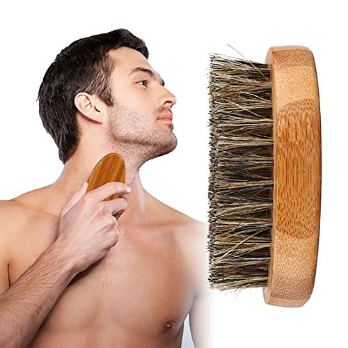 Hilai 1 UNID Cepillo Barba Hombre Larga Pelo Macho