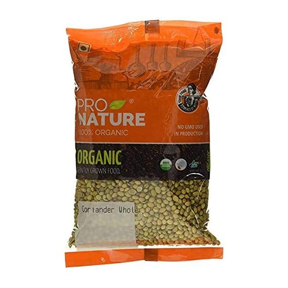 Pro Nature 100% Organic Coriander Whole