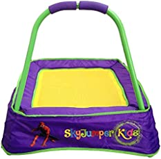SkyJumper Boy's Spiderman Trampoline (Purple and Yellow)