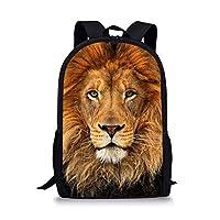Showudesigns Animal Print Backpacks for School Boys Girls Rucksack Kids School Bag with Pockeet