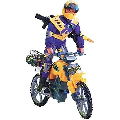 Max Steel MX250 Moto Blaster Dirt Bike by Mattel