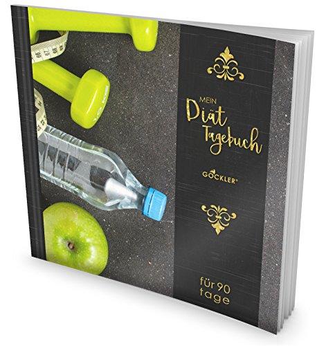 GOCKLER® Diät-Tagebuch: Das 90 Tage Abnehmtagebuch zum Ausfüllen • Professionell gestaltet, Softcover mit glänzendem Finish • Motiv