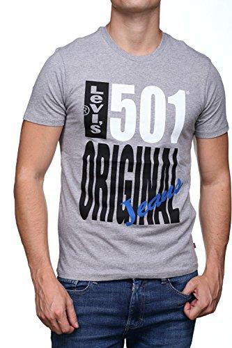 Levi's ® 501 graphic t-shirt grey hthr