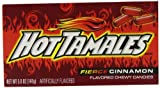 Hot Tamales Cinnamon Candies Theatre Box 141 g (Pack of 3)
