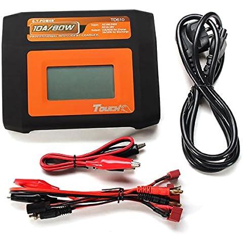 Touch Screen GT Potenza TD610 10A 80W intelligente caricatore dell