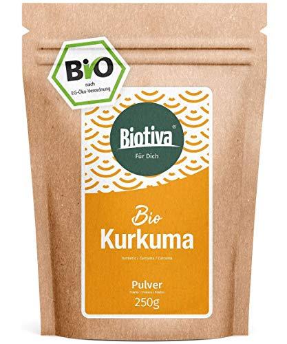 Curcuma polvere Bio radice di curcuma cibo eccellente per la stagionatura la cucina e le bevande 100% biologica e di qualità rigorosamente testato
