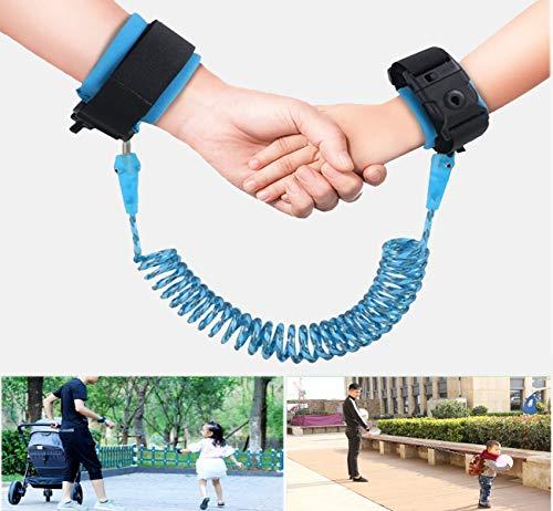 1.5M cuerda anti-perdida infantil, Arnes para Bebes y Niños, Rotación de 360...