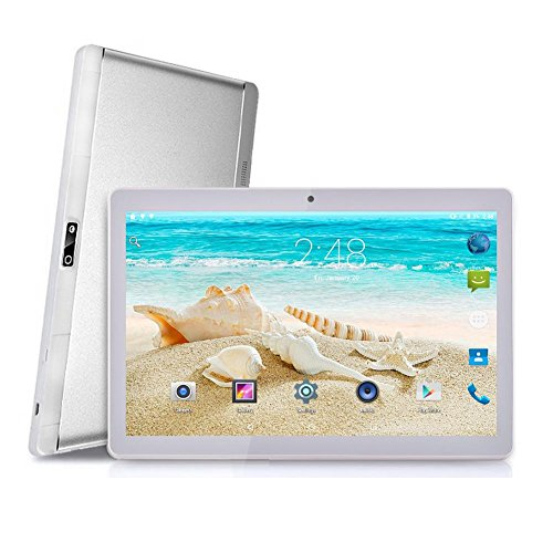Preisvergleich Produktbild Android 7.0 Tablets. Noomai neue 10, 1 Zoll acht Kerne 3G HD Handy Anruf Android 7.0 WiFi GPS 2 * SIMs Tablet 200 Watt + 500 Watt Phablet