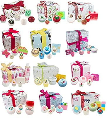 New Bomb Cosmetics Christmas Luxury Handmade Bath Pamper Gift Sets