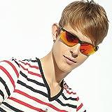 Jimmy naranja magnesio de aluminio gafas de sol polarizadas de ciclismo para de manga corta...