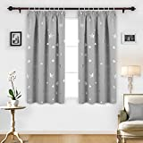 Best Blackout Curtains - Deconovo Super Soft Thermal Insulated Pencil Pleat Star Review