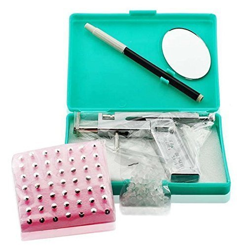 Jzhen Kit Pistola Piercing Profesional Hacer Perforaciones