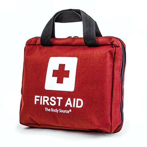Erste-Hilfe-Set mit Kühlakkus, Augenspülung und Rettungsdecke 90-teilig - 7
