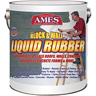 AMES RESEARCH LABORATORIES BWRF1 Water Base High Strength Elastomeric Liquid Rubber White by Ames