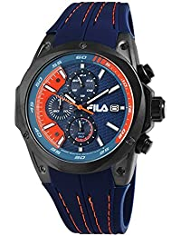 90047c135c6f Fila Mens Analogue Quartz Watch with Silicone Strap 38-823-002