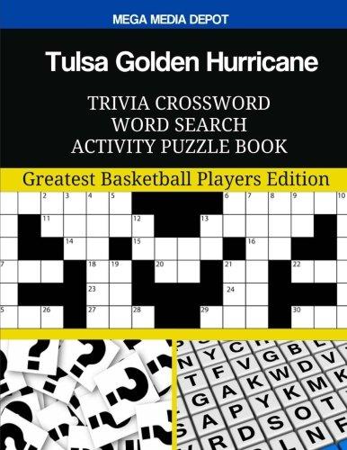 Tulsa Golden Hurricane Trivia Crossword Word Search Activity Puzzle Book por Mega Media Depot