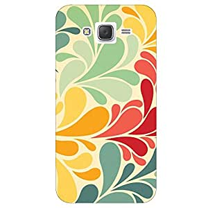 Hamee Designer 3D Printed Hard Back Case / Cover for Samsung Galaxy On Nxt (Colourful leaves )