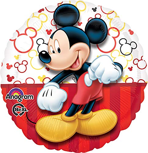 amscan Standard-c Mickey Hochformat Ballon (Duos Up Dress)