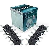 Atemschutz-Maske FFP3 mit Aktivkohle-Filter (10 STK.) in Premium-Qualität | Exzellenter Atemschutz bei optimalem Sitz | Einweg Feinstaub Masken (Halbmaske über Mund und Nase) von CLEAN BREATH®