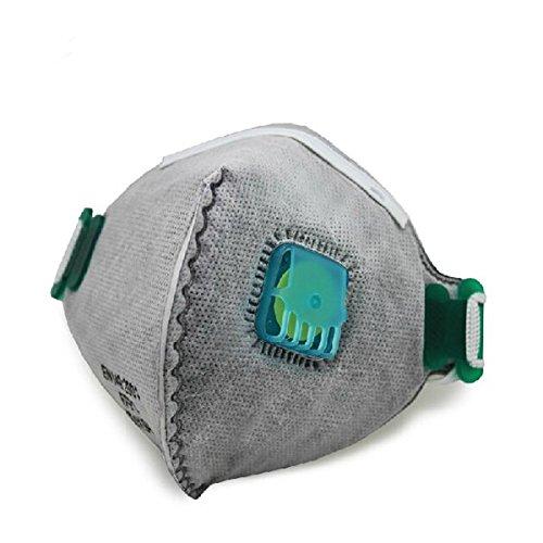 Preisvergleich Produktbild JenNiFer 10 Stücke Pm2.5 Anti Fog Und Dunst Antivirus Aktivkohle Maske