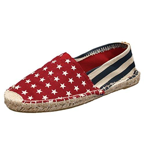 Lvguang women shoes unisex espadrillas basse uomo scarpe da viaggio casual per le scarpe di tela stile8, asia 39 (245cm)