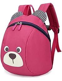 Preisvergleich für WISEUK Kinderrucksack Anti verloren Kinder Rucksack Mini Bär Schule Tasche für Baby Jungen Mädchen Kleinkinder...