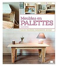 Meubles en palettes  par Lionel Cerdan