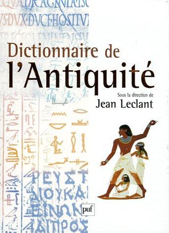 Dictionnaire de l'Antiquit