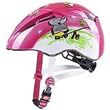 uvex Kid 2, Casco Bicicletta Unisex Bambino, Pink Playground, 46-52 cm