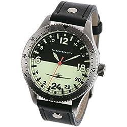 Aristo ME 108-24DR, Messerschmitt, 24 Hour Aviator Watch