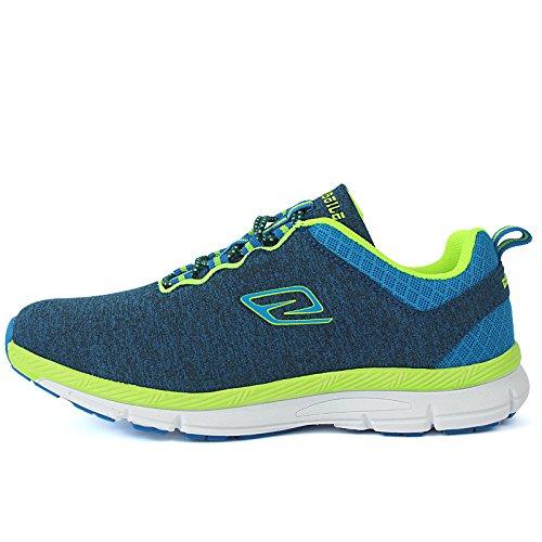 Printemps et chaussures de marche casual chaussures d'extérieur femme été mesh respirants chaussures de course Blue
