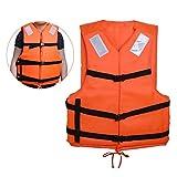 Orange Schwimmweste Rettungsweste Für Erwachsene Im Wassersport
