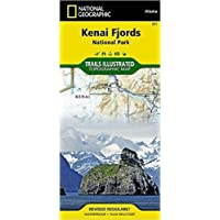 National Geographic Kenai Fjords National Park Map: