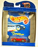 1997 - Mattel / Hot Wheels 30 Years Commemorative - 1993 Dodge Viper Rt/10 - Red - Limited Edition for Adult Collectors - Protective Box has wear - Limited Edition - Rare - Out of Production