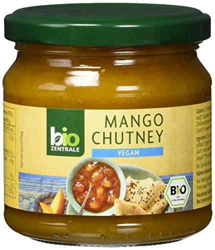 biozentrale Mango Chutney, 6er Pack (6 x 220 g)
