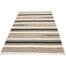 ES-1970-25-Alfombras kilim 180x120 Cm 100% cotone Certificato -Galleria farah1970 #