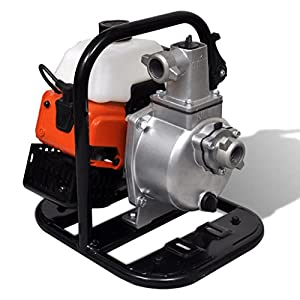 mewmewcat Motobomba de Agua a Gasolina 1,45 kW a 7000 r/Min 32 x 26 x 32 cm