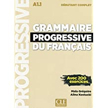 Grammaire progressive du francais Niveau debutant complet + CD