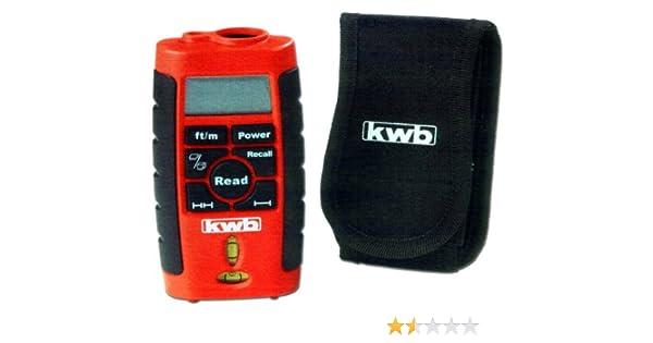 Laser Entfernungsmesser Ultraschall : Kwb ultraschall laserentfernungsmesser amazon baumarkt