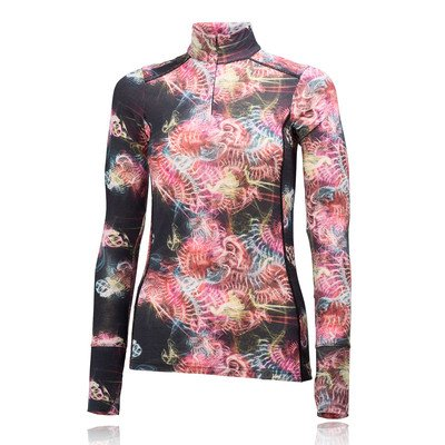 Helly Hansen W HH Wool Graphic 1/2 Zip – sous-vêtements Femme