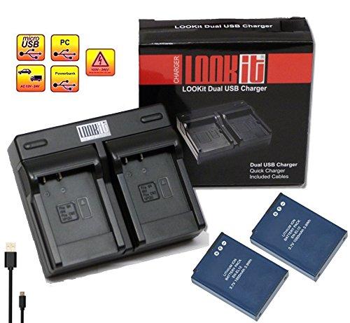 set-inkl-2x-premium-akku-en-el12-1050mah-dualladegerat-mit-micro-usb-anschluss-fur-nikon-keymission-