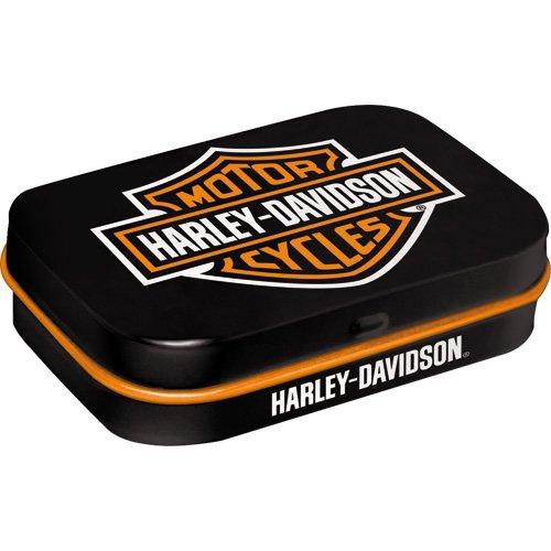 9f2f475f1 Nostalgic-Art 40361138118 Caja mentine Harley-Davidson Logo