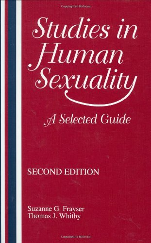 Studies in Human Sexuality: A Selected Guide