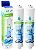 2x AquaHouse AH-UIF Universal Fridge Water Filter fits Samsung LG Daewoo Rangemaster Beko Haier etc Fridge Freezer