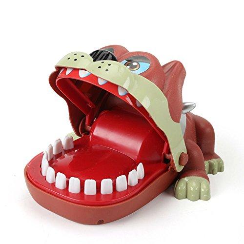 Driverder Kinder Adult Brettspiel Spielzeug Kinder Elektrische Zahnbürste Finger PuppToy