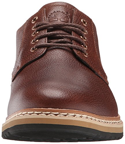 Haven Timberland Ouest Plan-toe Oxford Dark Brown Full Grain