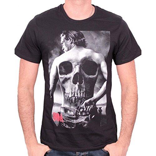 Sons of Anarchy T-Shirt Skull Back Größe XL