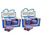 E.L.F Energy Cake - die Nährstoffbombe mit mehr als 500 kcal 2er Pack ( 2 x 24 Box ) - WEISSE SCHOKOLADE