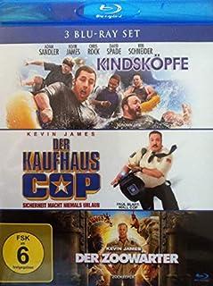 Kindsköpfe + Der Kaufhaus Cop + Der Zoowärter [3 Blu-rays] 3 Filme