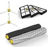 Anicell Kit de piezas de repuesto de Aspirador para iRobot Roomba 800/900 series 870 880 980, Kit de piezas de repuesto de Robots de limpieza por vacío